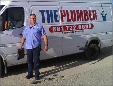 Cory Oyler of THE PLUMBER in Lancaster, CA